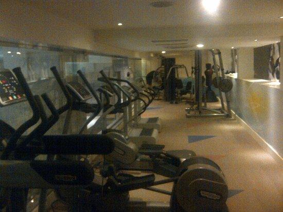 Holiday Inn Riyadh - Al Qasr :                   Well equiped gym