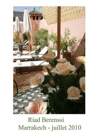 Riad Berenssi : solarium et terrasse