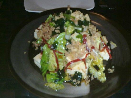 Lui y Keito: Ensalada de Tofu buenísima