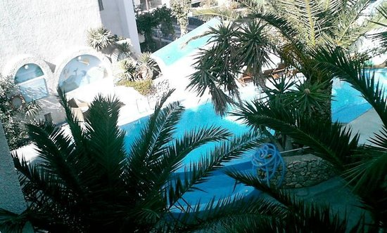 The Best Hotel:                   ambrex the pool