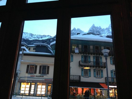 Grand Hôtel des Alpes : Lovely view from the hotel