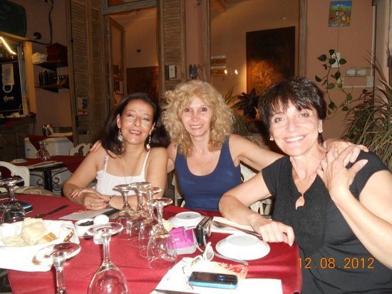 Restaurante Mundano: cena en el patio
