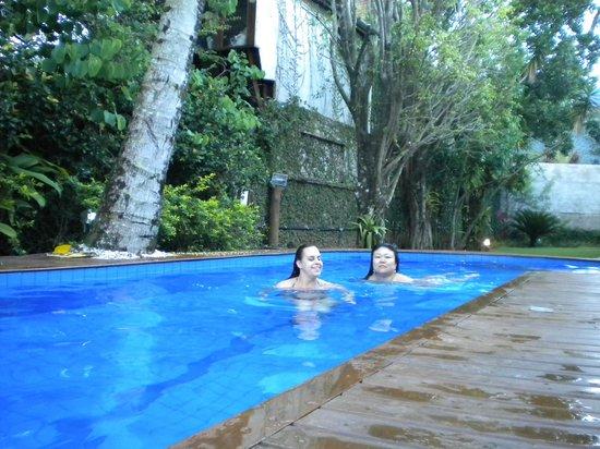 Pousada Verano:                   banho de piscina