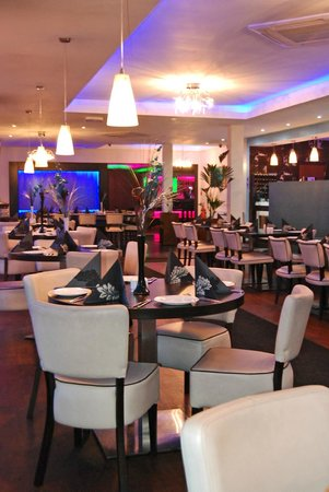 Indish: The dining area