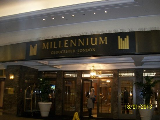 Millennium Gloucester Hotel London Kensington: First impressions count