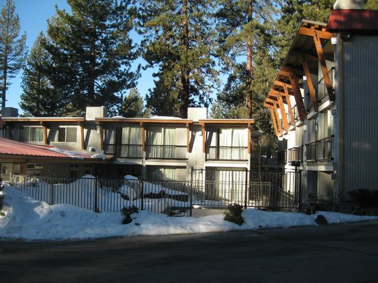 Firelite Lodge:                   front of both buildings