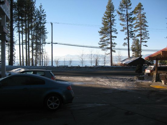 Firelite Lodge:                   View from parking lot