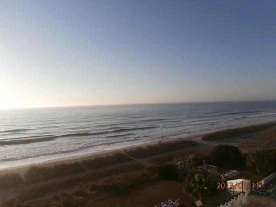 Ocean Park Resort, Oceana Resorts:                   Taken from our room balcony.