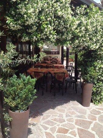 La Locanda Abruzzese : la nostra veranda immersa nel verde