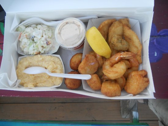 Star Fish Company Dockside Restaurant:                   Fish dinner