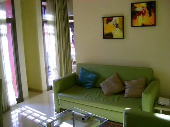 The Waterfront Shaw, Lavasa:                   Living room