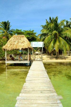 Sea Dreams Hotel: The private dock