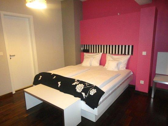 The Circus Hotel: il comodo letto
