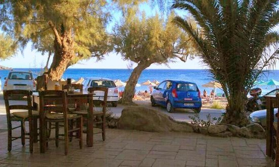 Damnoni Taverna : view from our yard