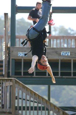 Ocoee Zipz:                   If you dare, go upside down!!! This is always my highlight of ziplining.