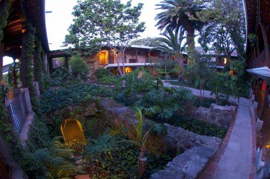 Casa Santo Domingo: Jardines