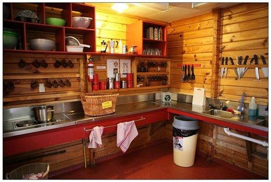 YHA Aoraki Mt Cook:                   ketchen