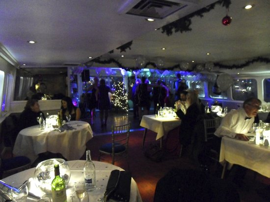 Wonderful atmosphere and decor for new year s eve