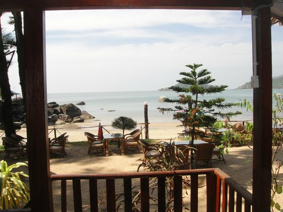 Marron Sea View Resort: Direct Sea view from sea facing cottage