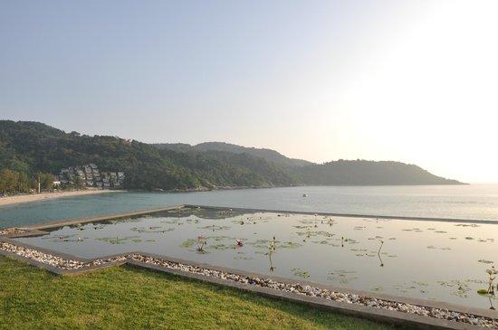 Impiana Private Villas Kata Noi: view across to bay