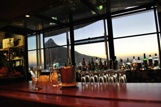 The Ritz Cape Town:                   from the bar on last floor