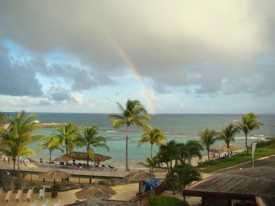 Le Manganao Hotel Club Paladien: apres la pluie...