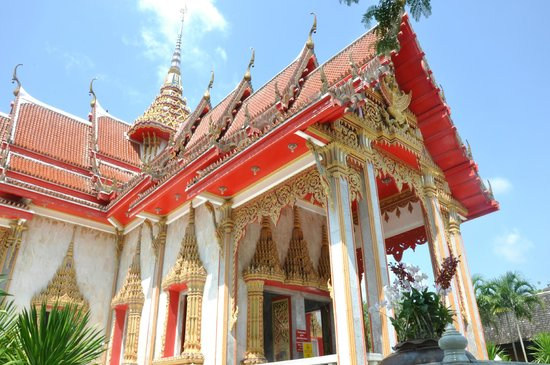 Wat Chalong: temple