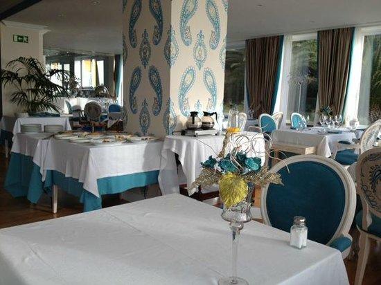Senhora da Guia Cascais Boutique Hotel: Restaurante y desayuno