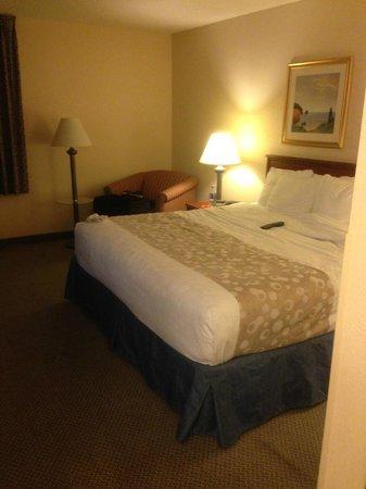 La Quinta Inn Hartford Bradley Airport: king room