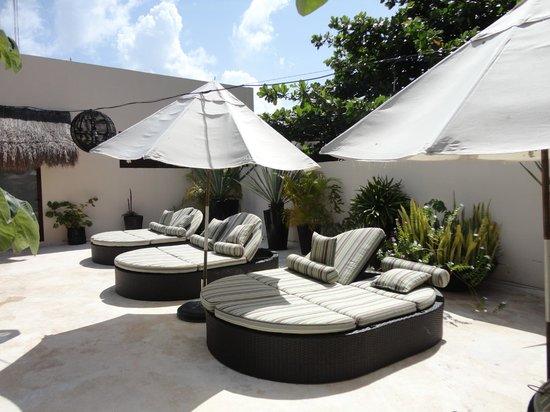 La Tortuga Hotel & Spa: Solarium