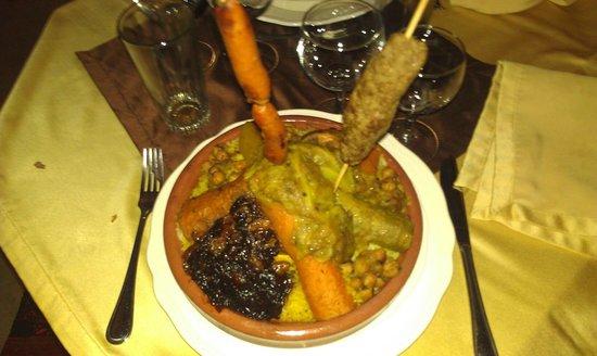 Riad La Rose D'Orient: Couscous Royale !