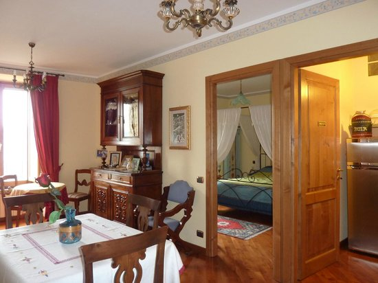 B&B Ripa Medici Rooms with a View: Soggiorno