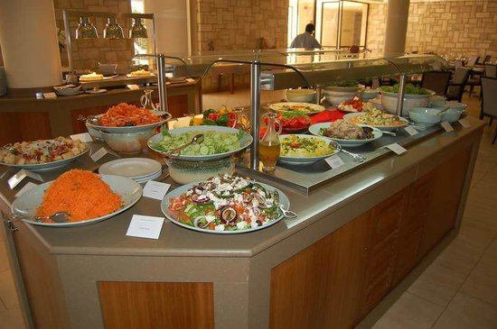 The Annabelle:                   Salad buffet selection