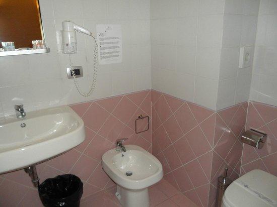 Idria Hotel: Bagno