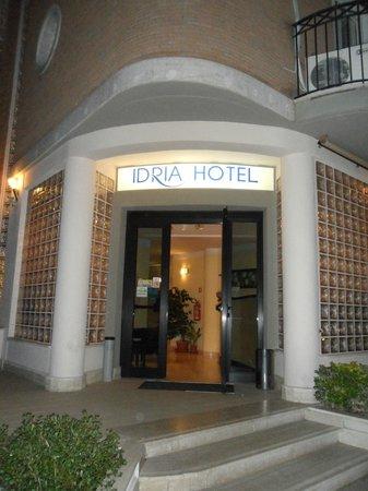 Idria Hotel: Ingresso hotel