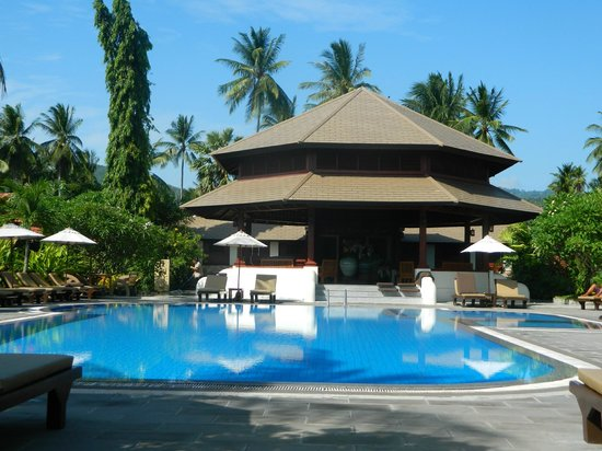 Smile House Resort:                   The main pool