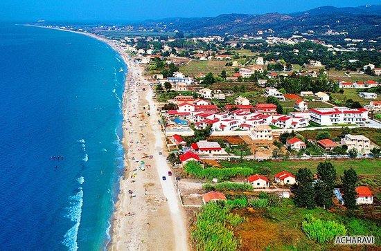Acharavi Beach Hotel: der 15 Km lange schöne Strand mit täglichem Bild Albaniens