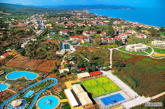 Acharavi Beach Hotel: Luftansicht Acharavi Corfu