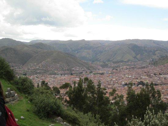 El Balcon:                   view