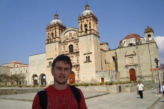 Templo de Santo Domingo de Guzmán: Oaxaca - Fachada del Templo de Santo Domingo de Guzman