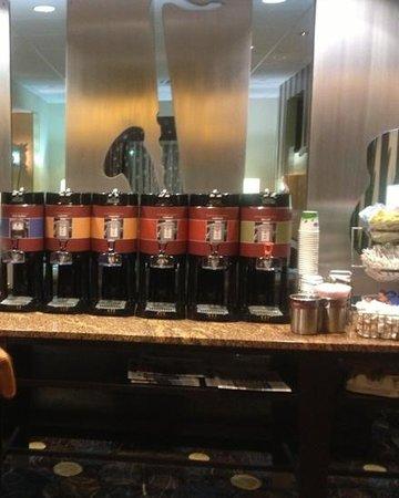 Hampton Inn & Suites Nashville @ Opryland:                   All night coffee and tea