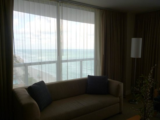 Marenas Beach Resort:                   View from dining room                 