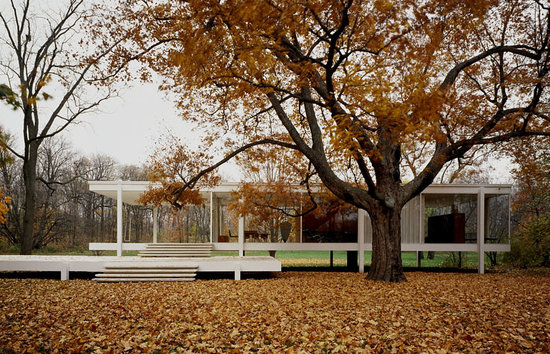 Aurora, Илинойс: Farnsworth House