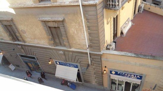Hotel Aldobrandini: Dalla finestra