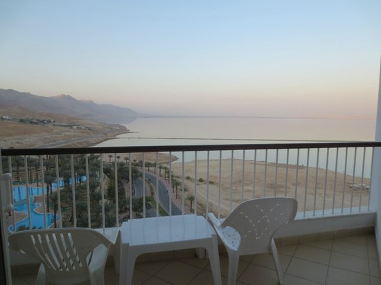 David Dead Sea Resort & Spa: Balcony