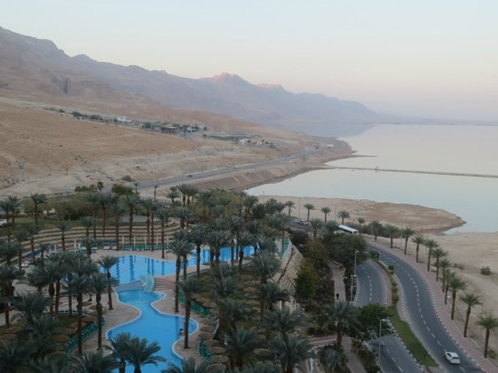 David Dead Sea Resort & Spa: View from the Room's Balcony