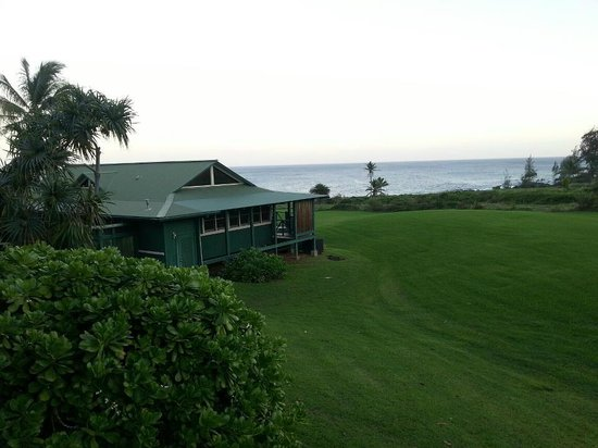 Travaasa Hana, Maui:                   The view from our room... this particular one was vacant