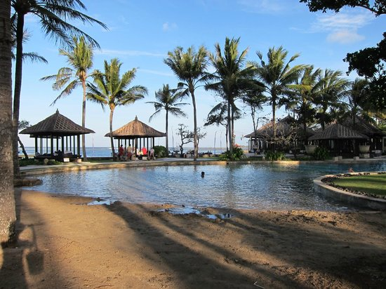 Conrad Bali: Baby sand pool