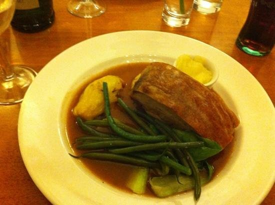 The Swan:                   pork belly, picture doesnt do it justice!