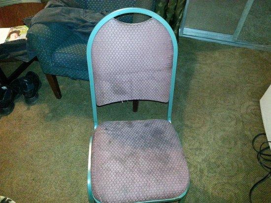 Red Carpet Inn Houston:                   Chair
